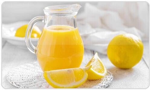 Citron är bra för produktionen av galla