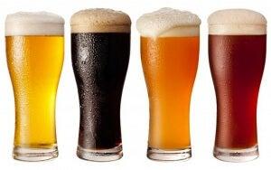 Öl av olika typer