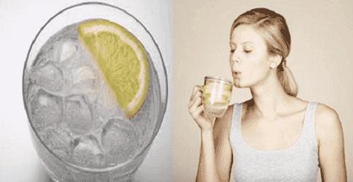 Drick varmt vatten på fastande mage