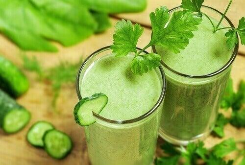 Grön shake