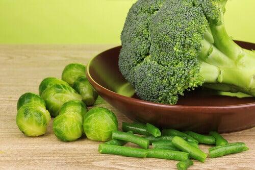 Grönsaker med fytokemikalier