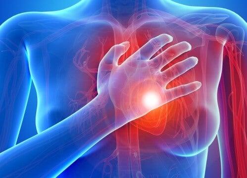 De första symtomen på hjärtsjukdom hos kvinnor