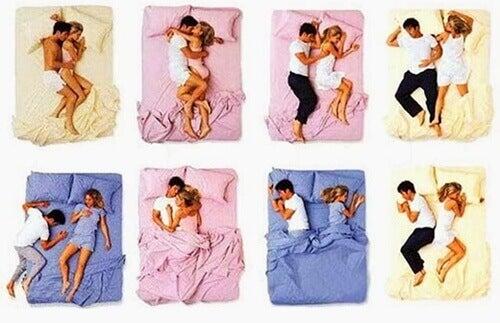Sovställning i en relation