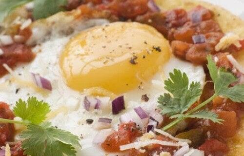Protein är bra till frukost