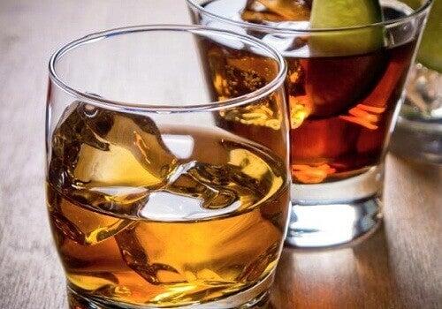 Undvik alkohol för att undvika snarka