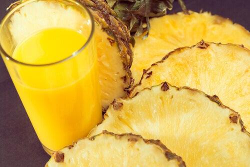Ananas kan lindra smärta