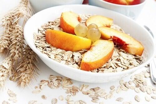 Ät endast fiberrika spannmål