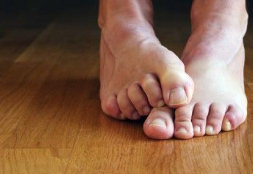 Undvik att sprida nagelsvampen