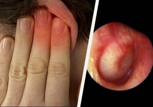 Spola öronen för att motverka öronsmärtor