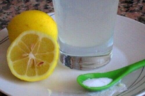 Bakpulver och citron