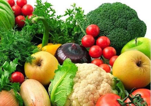 Ät grönsaker mot broskslitage