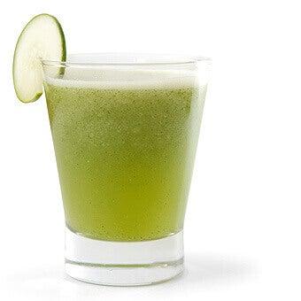 Juice med gurka och äpple