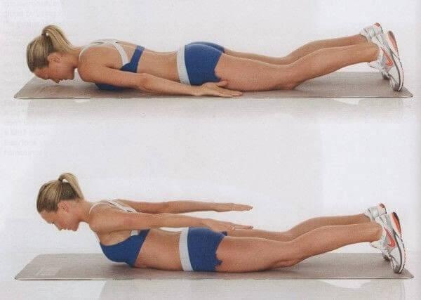 hur får man bort fett på ryggen