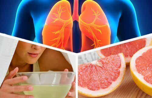 """Prova denna """"diet"""" för att avgifta dina lungor"""