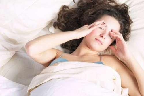 Huvudvärk morgonen