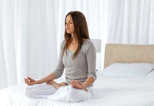 Meditera för att slappna av