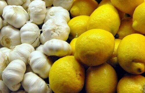 Citron- och vitlökskuren är bra mot många hälsoproblem
