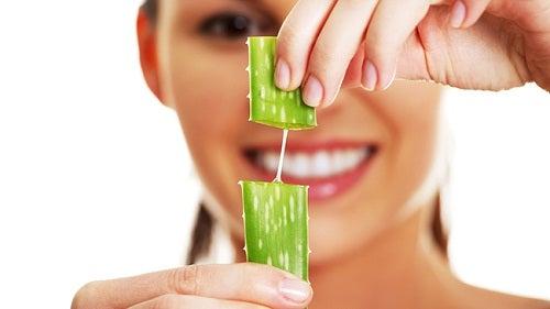 Aloe vera motverkar hängande kinder