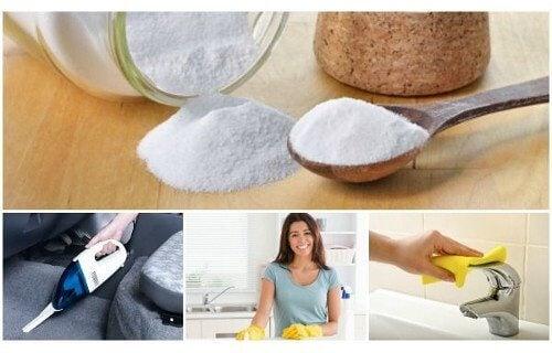 6 användningar för bikarbonat i hemmet