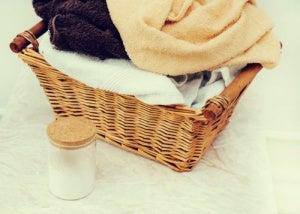 Bikarbonat för att tvätta kläder