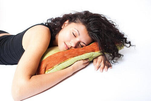 Sova på vänster sida är bra för hälsan.