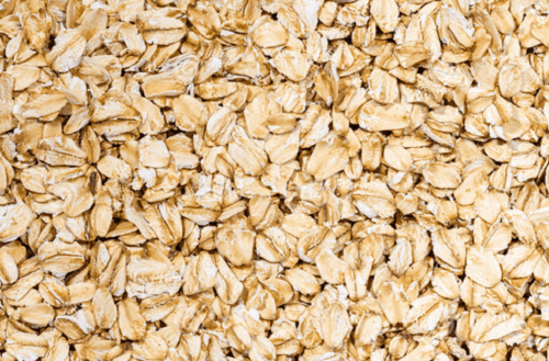 Havregryn har olösliga fibrer