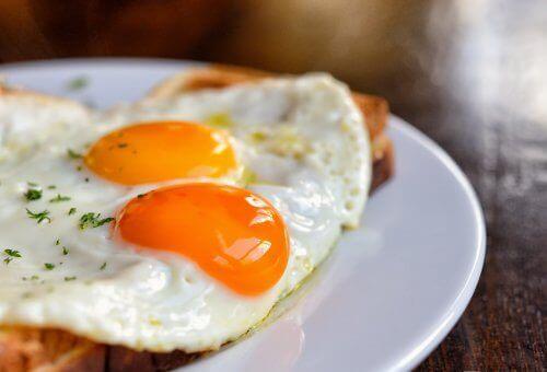 Ägg har vitamin A