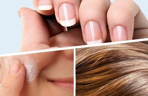 Hår-hud-naglar