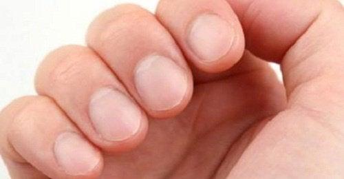 mina naglar delar sig