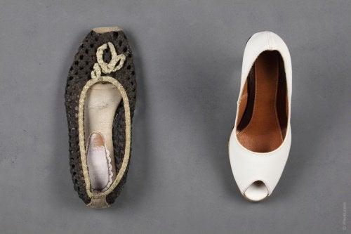 Talk för skor