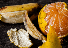 banan- och apelsinskal