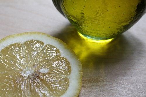 Citron och olivolja