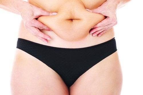 Bilringar runt magen