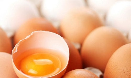Äggvita- och gula