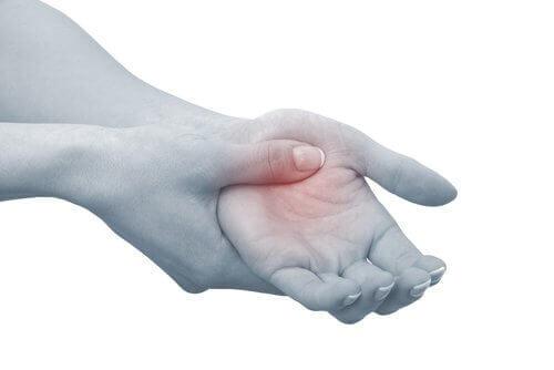 Inflammation i handen