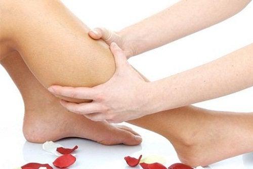 Kramp i benet kan orsakas av brist på magnesium