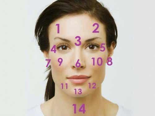 Ansiktskarta - ditt ansikte reflekterar din hälsa