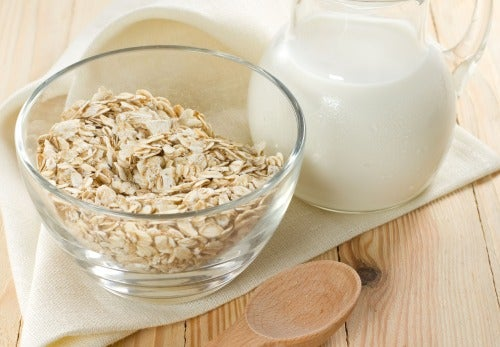 Havrevatten för viktnedgång