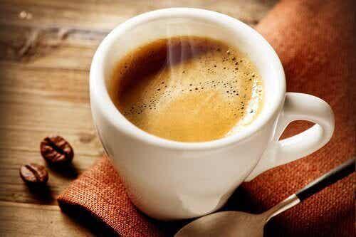 Förhållandet mellan kaffe och hunger