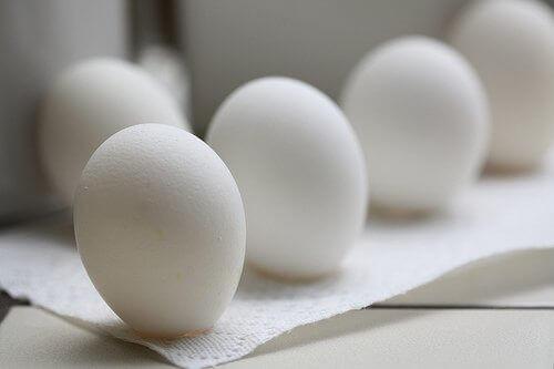 Vita ägg