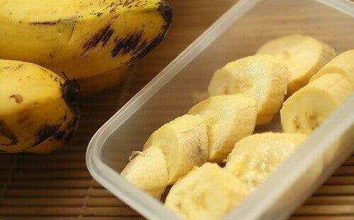 Banan fungerar som ett sömnmedel
