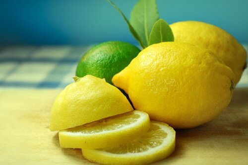Skivad citron
