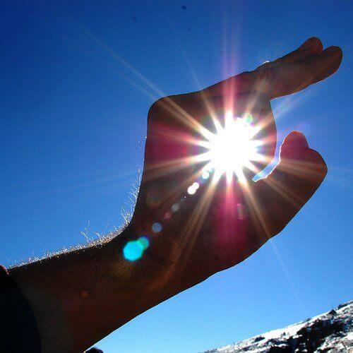 Undvik för mycket sol