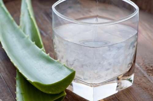 Juice på aloe vera