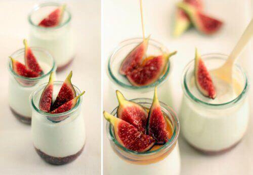 Fikon och yoghurt