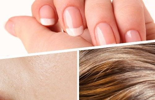 Hår, hud och naglar