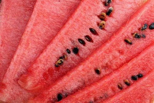 Vattenmelonfrön innehåller cucurbocitrin