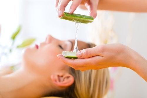 En hemmagjord aloe vera-gel är 100% naturlig