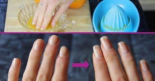 Olivolja för naglarna