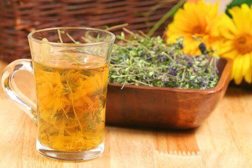 Drick te för att stärka lungorna